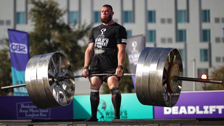 dünyanın en güçlü adamı Oleksii Novikov