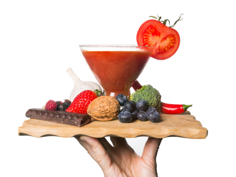 antioksidan içeren besinler