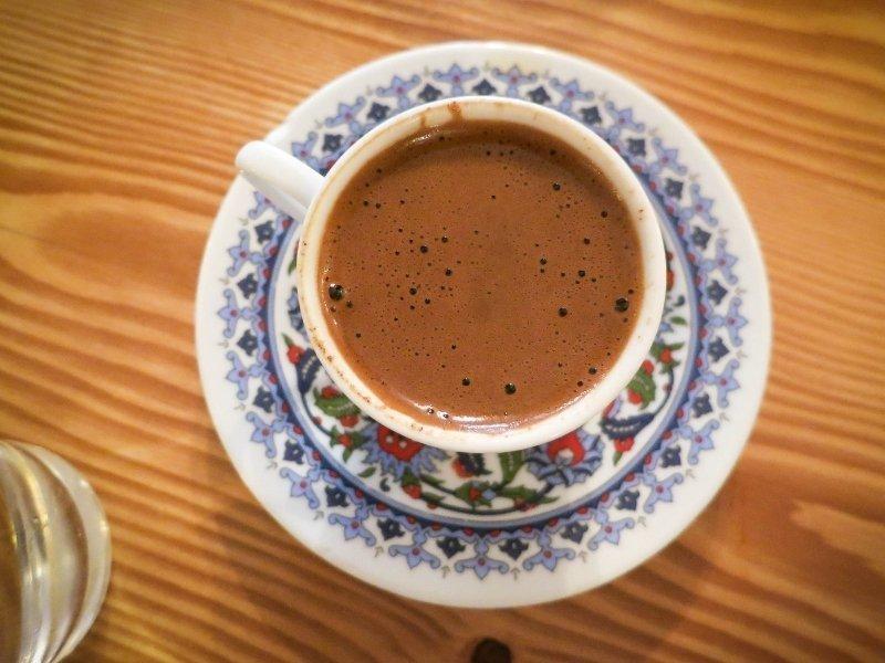 türk kahvesi basen eritir