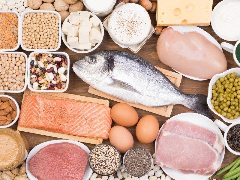 protein tüketerek zayıflayın