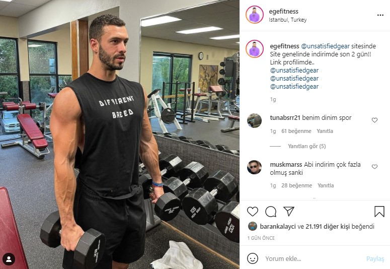 ege fitness instagram