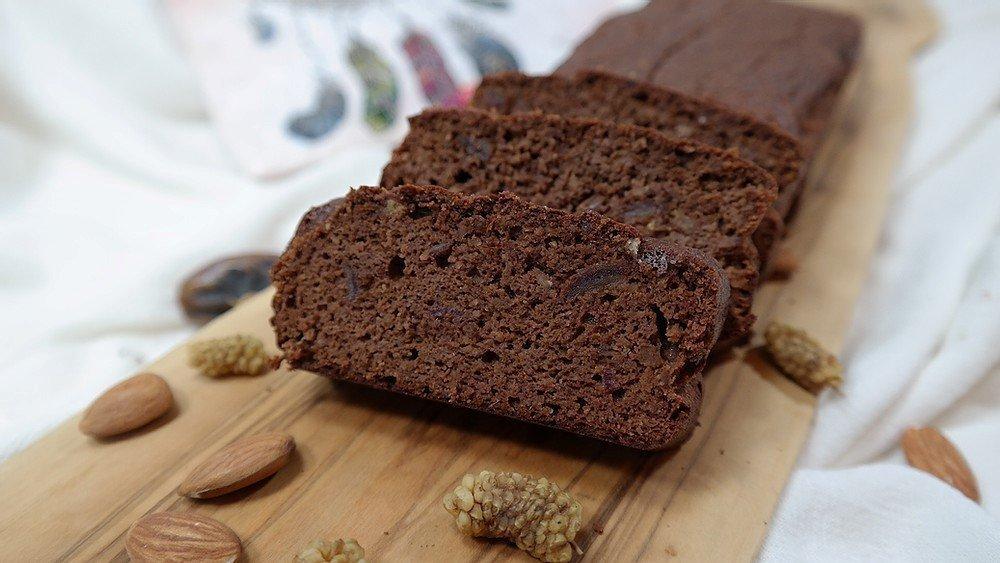 Bitter çikolatalı fit kek