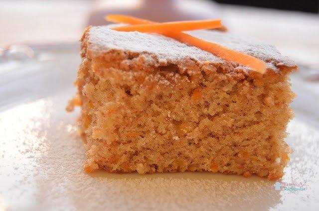 Havuçlu fit kek