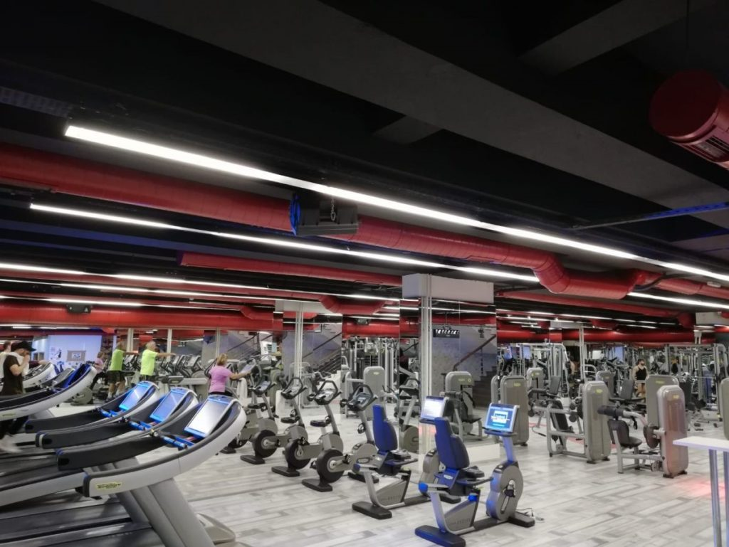 the red fitness salonu