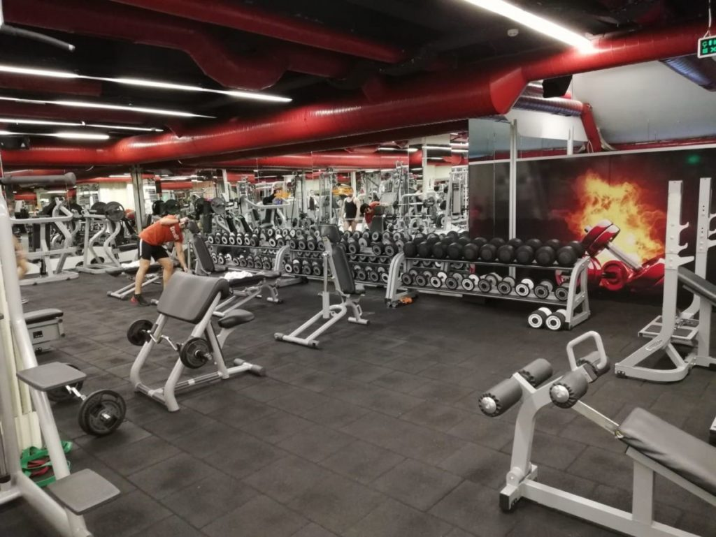 the red fitness